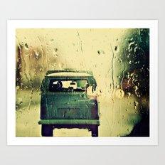 Rainy Mood Art Print