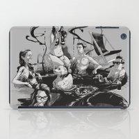 swim iPad Cases featuring SWIM by SPYKEEE