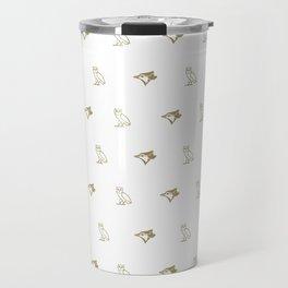 Blue Jay - White Travel Mug