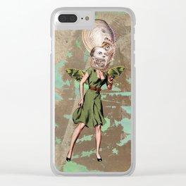 Sea fairy Clear iPhone Case