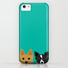 Pippen & Sooty - Teal iPhone 5c Slim Case