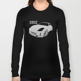 Nissan 350Z - silver - Long Sleeve T-shirt
