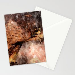 Peregrine falcon (Falco peregrinus) Stationery Cards