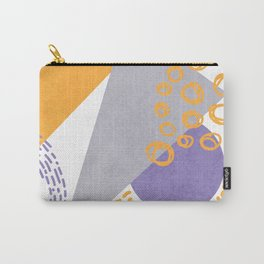Triangles and sprinkles Carry-All Pouch