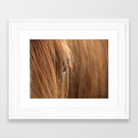 mustang Framed Art Prints featuring Mustang by Cowgirll39