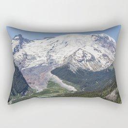 Mount Rainier on the Sunrise Side Rectangular Pillow