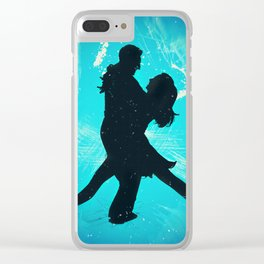 Sexy Tango Dancing Couple Clear iPhone Case