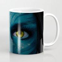 avatar Mugs featuring Avatar by Karel Stepanek