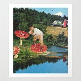 The Mycologist Art Print
