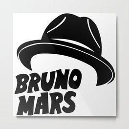 Bruno Hat Metal Print