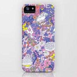 Food Floral - Technicolor iPhone Case