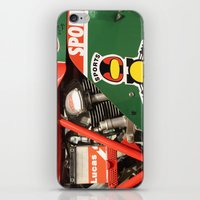 ducati iPhone & iPod Skins featuring Ducati Motor by Internal Combustion