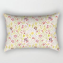 River Walk Floral Rectangular Pillow
