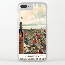 Milwaukee 1898 Clear iPhone Case