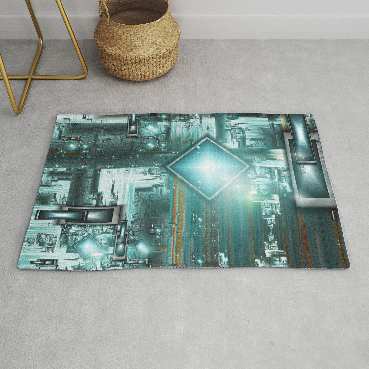 Tron The Next Generation Rug By