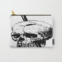 The Skull of Phineas Gage Vintage Illustration Carry-All Pouch