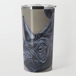 rhino tusk Travel Mug