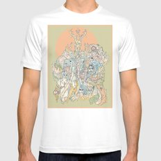 sherbet Mens Fitted Tee MEDIUM White