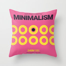 MINIMALISM #10 Throw Pillow