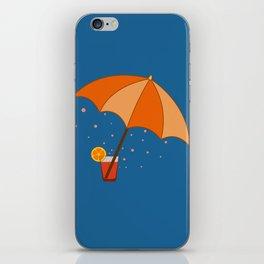 big cocktail umbrella iPhone Skin
