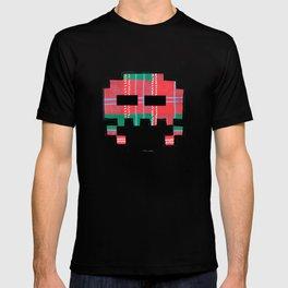 Tartan Invader #1 T-shirt