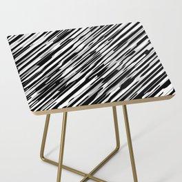 Diagonals mix gray Side Table