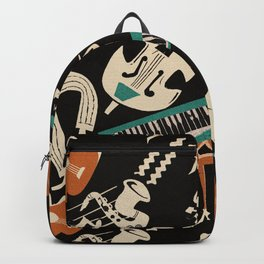 Jazz Rhythm (negative) Backpack