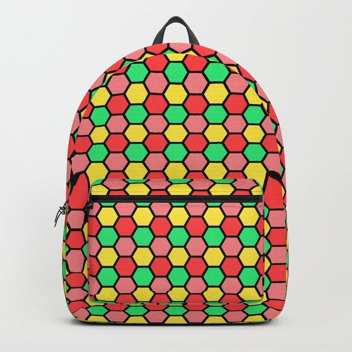 Happy Honeycombs Backpack