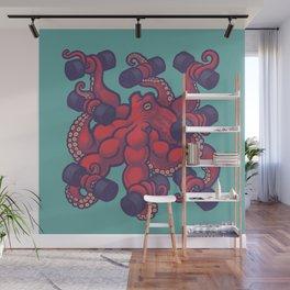 Tentacurls Wall Mural