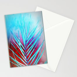 Palm Leaf in the Sunset Stationery Cards