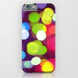 Light Dots iPhone Case