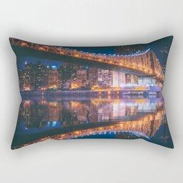 An Evening Like This - New York City Rectangular Pillow
