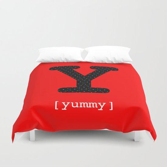 #Y [yummy] Duvet Cover