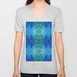 210 - abstract pattern Unisex V-Neck
