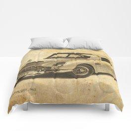 Aston DB5 portrait Comforters