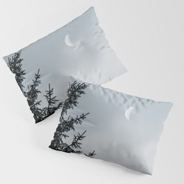 Half Moon   Nature and Landscape Photography Pillow Sham