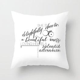 Maraboli Throw Pillow