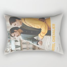 Hotel Chevalier Minimal Movie Poster No 01 Rectangular Pillow