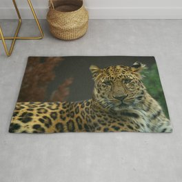 Young Amur Leopard Rug