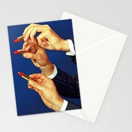 Mister Lipstick Stationery Cards