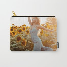 flower photography by Blake Cheek Carry-All Pouch