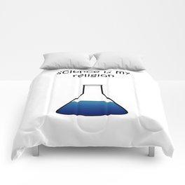 science blue Comforters