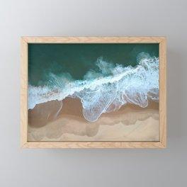 Atlantic Ocean Framed Mini Art Print