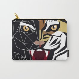 Graphic image of a growling tiger Carry-All Pouch