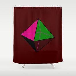 Octahedorn Shower Curtain