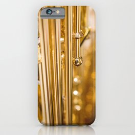 Dazzling Sound Contemporary Saxophone iPhone Case