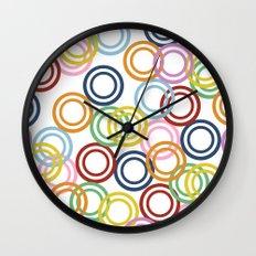 Hoopla Wall Clock