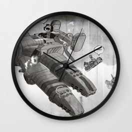 What We Knew When We Were Young Wall Clock