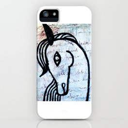 A horse from foreign country iPhone Case