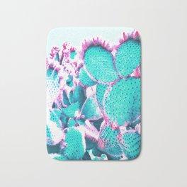 Cactus - watercolor Bath Mat